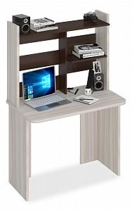 Стол компьютерный Домино Lite СКЛ-Прям100Р+НКЛ-100