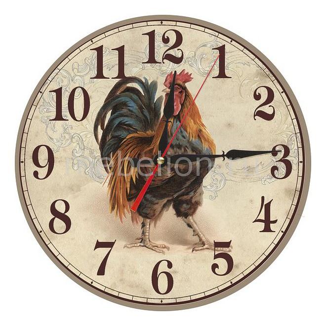 Настенные часы Акита (40 см) Петух C40-14 цена и фото