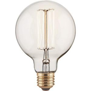 Лампа накаливания G95 60W E27 220В 60Вт 3300K a034965