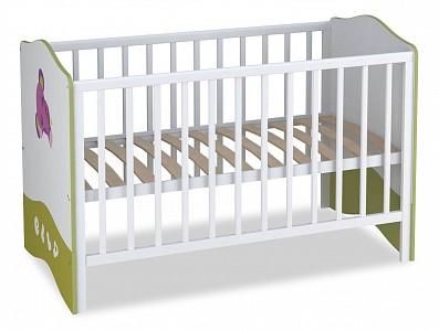Кроватка фабрики Polini Polini kids Basic Elly TPL_0001184-3