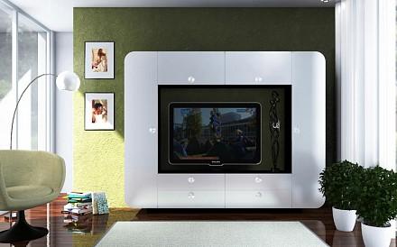 Мебельная стенка среднего размера Некст TRM_2870931