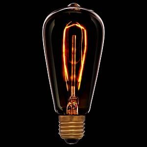 Лампа накаливания ST58 E27 240В 40Вт 2200K 053-563
