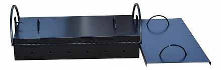 Крышка для мангала (100х40 см) КМб