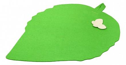 Коврик для бани (51x39 см) Лист
