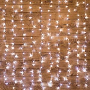 Занавес световой [2.5x2 м] Светодиодный Дождь 235-055