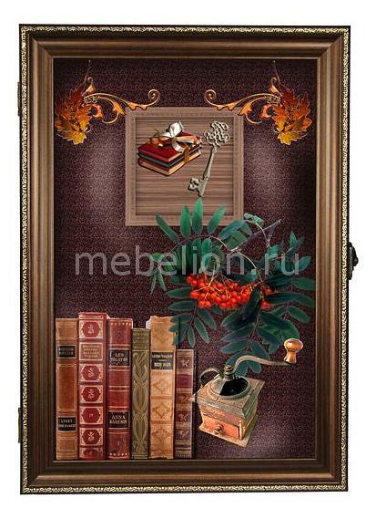 Ключница Акита (24х34 см) Книги 312-40 ключница акита 23х33 см королевские узоры 7358