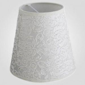 Плафон Текстильный 10307 абажур жемчужно-белый