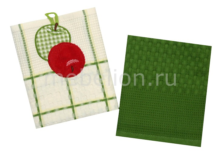 Набор из 2 полотенец для кухни Фрукты, овощи