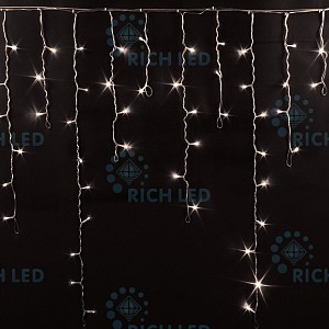 Бахрома световая (3х0.5 м) RL-i3*0.9-RB/WW