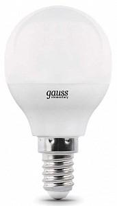 Лампа светодиодная [LED] Gauss E14 7W 3000K