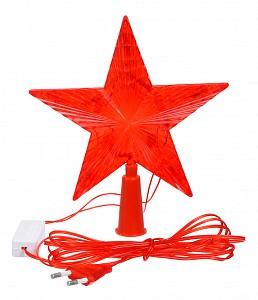Верхушка на елку световая (15х15 см) Звезда 55097