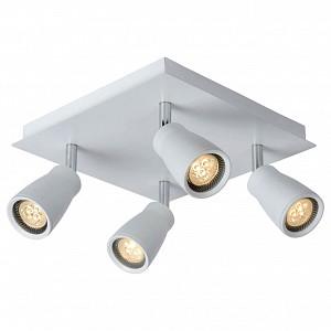 Спот поворотный Lana, 4 лампы  по 4.5 Вт., 2.9 м², цвет белый матовый