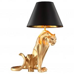 Лампа настольная с абажуром Леопард KL_7041-1.04_mat
