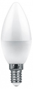 Лампа светодиодная [LED] Feron E14 9W 4000K