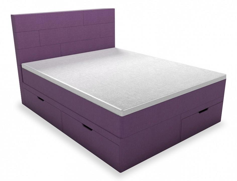 Кровать двуспальная с матрасом и топпером Домино 2000x1800
