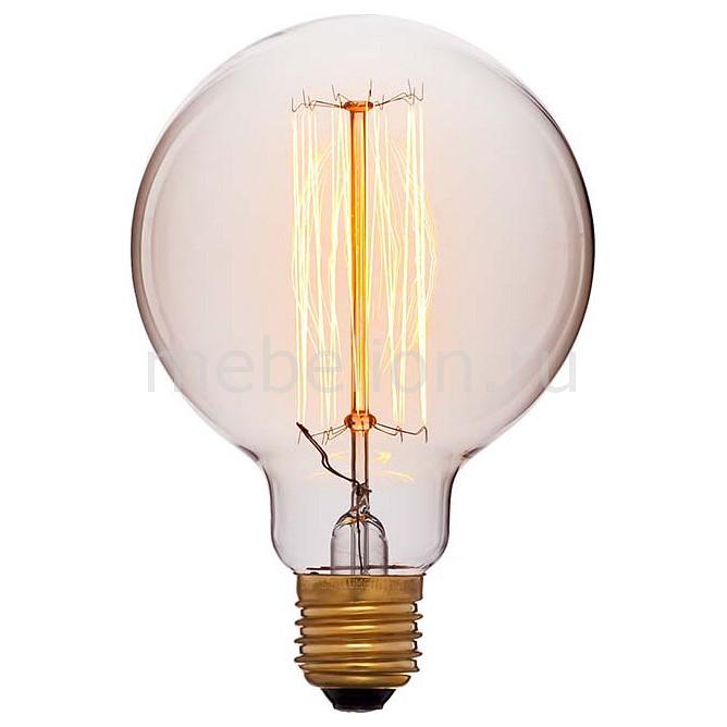 Лампа накаливания G95 E27 60Вт 240В 2200K 052-290