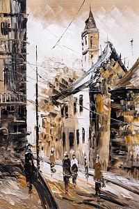 Картина (40х60 см) Старый город HE-101-549