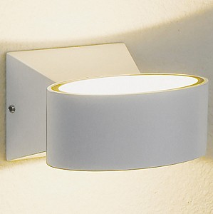 Накладной светильник 1549 TECHNO LED BLINC белый