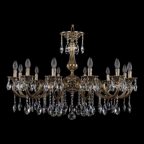 Подвесная люстра 1702/12/300/A/GB Bohemia Ivele Crystal 1702/12/335/A/GB  (BI_1702_12_335_A_GB), Чехия