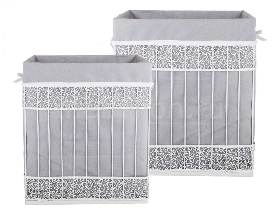Набор корзин АРТИ-М Набор из 2 корзин (42x31x49 см) 190-213 набор из 2 грибных корзин природный интерьер k 2224 s 2