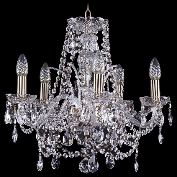 Подвесная люстра 1411/5/160/Pa Bohemia Ivele Crystal  (BI_1411_5_160_Pa), Чехия