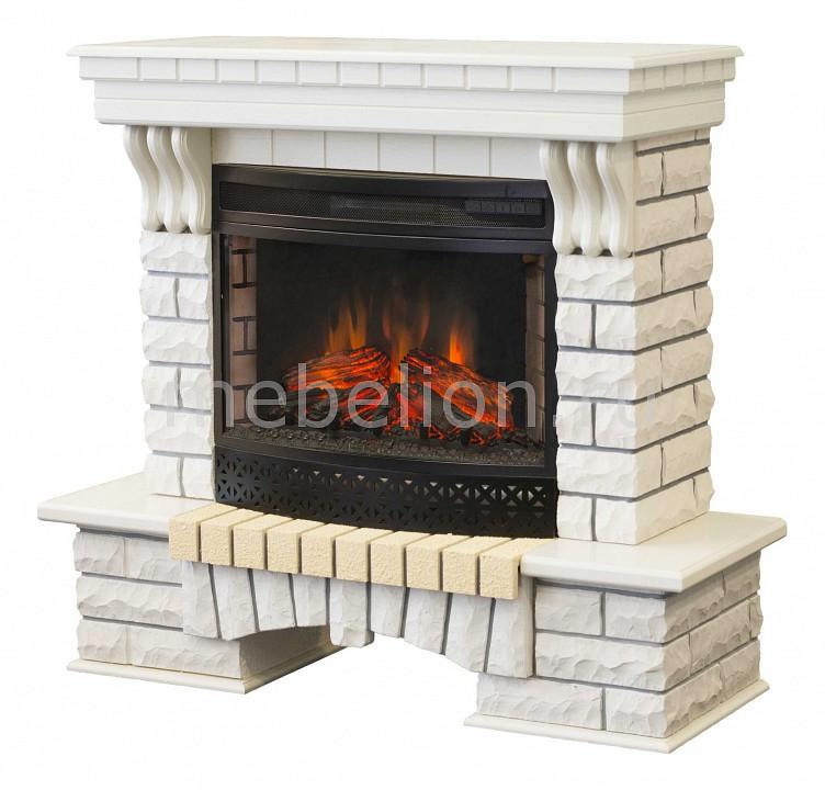 Электрокамин напольный Real Flame (120х43х117.5 см) Country 00010010405 электрокамин real flame majestic br s
