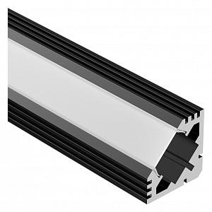 Профиль накладной угловой внутренний [2 м] PDS45-T-2000 ANOD Black 015033