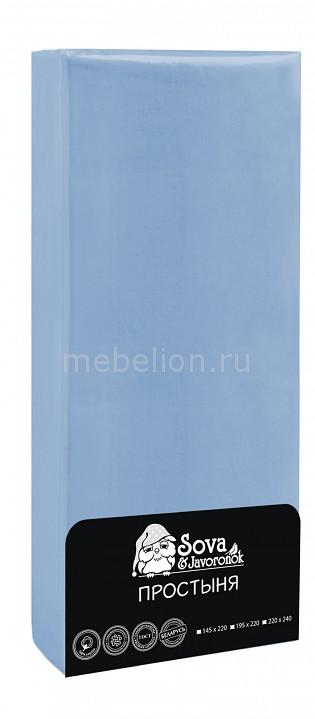 Простыня Сова и Жаворонок HPH_08030115809 от Mebelion.ru