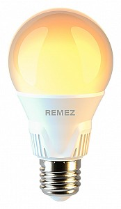 Лампа светодиодная 175-265В 7Вт 3000K RZ-101-A60-E27-7W-3K