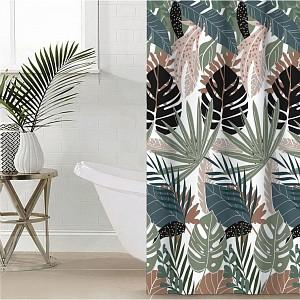 Штора для ванной (145x180 см) Tropic