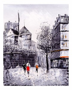 Панно (40х50 см) Париж 11810044
