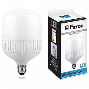 Лампа светодиодная [LED] Feron E27-E40 30W 6400K