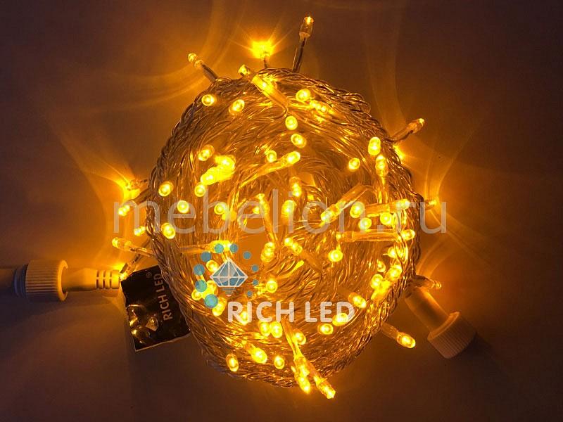 Электрогирлянда RichLED RL_RL-S10C-24V-T_Y от Mebelion.ru