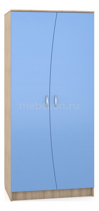Шкаф MOBI MOB_Nika401M_blue от Mebelion.ru