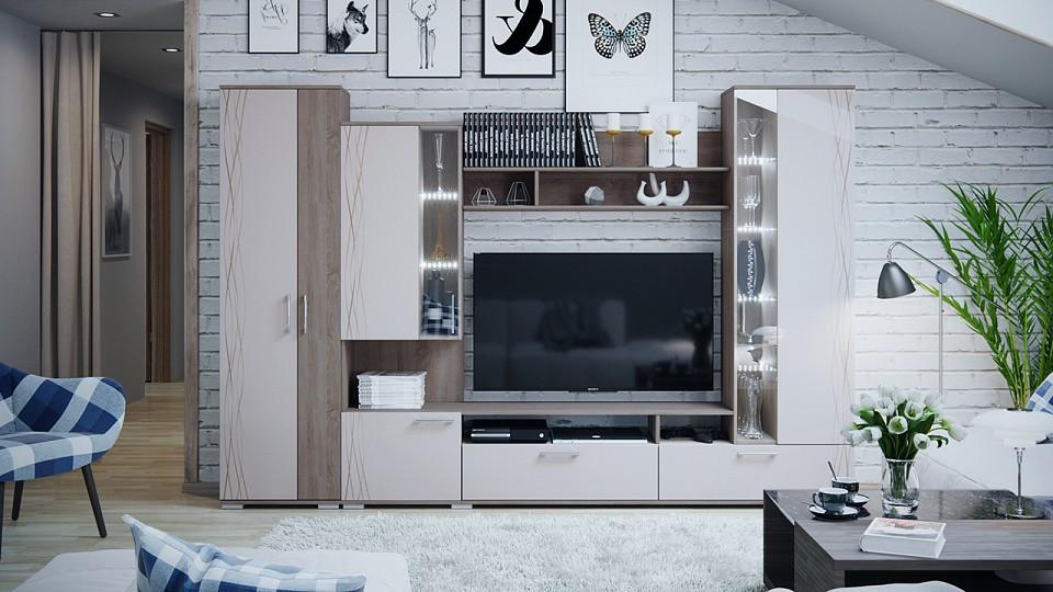 Гостиная Smart мебель SMT_Fly_system_livingroom от Mebelion.ru
