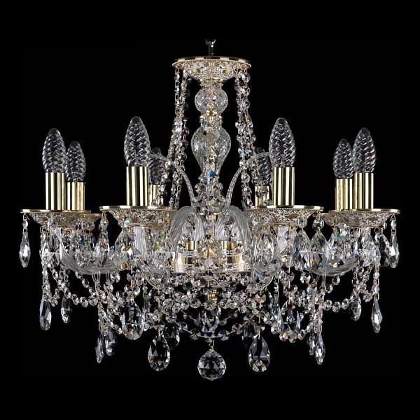 Подвесная люстра 1611/8/195/GW Bohemia Ivele Crystal  (BI_1611_8_195_GW), Чехия