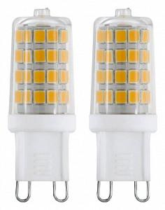 Набор из 2 ламп светодиодных 11670 G9 220В 3Вт 4000K 11675