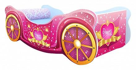 Кровать-машины Принцесса KMA_K007