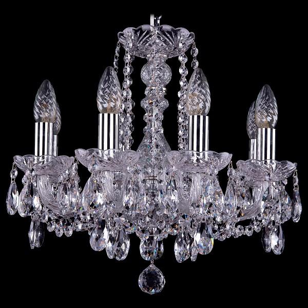 Подвесная люстра 1402/8/141/Ni Bohemia Ivele Crystal  (BI_1402_8_141_Ni), Чехия