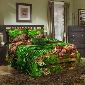 Комплект полутораспальный Леопард