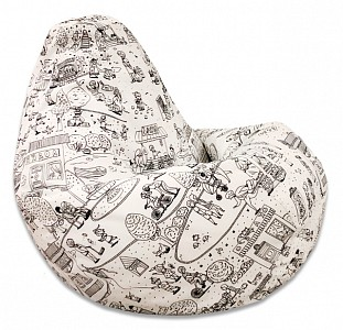 Кресло-мешок Раскраска 2XL 135*95 см