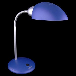 Настольная лампа офисная Confetti 1926 синий