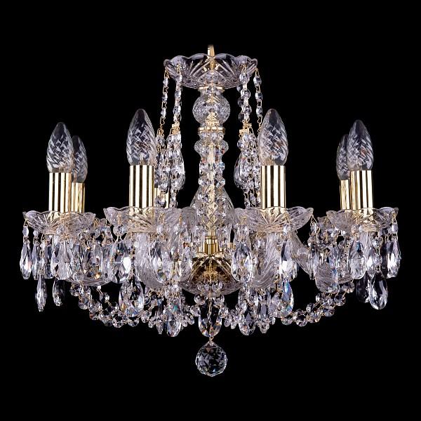 Подвесная люстра 1406/8/160/G Bohemia Ivele Crystal  (BI_1406_8_160), Чехия