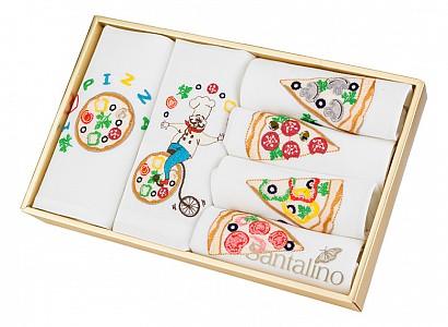 Набор из 6 салфеток Пицца