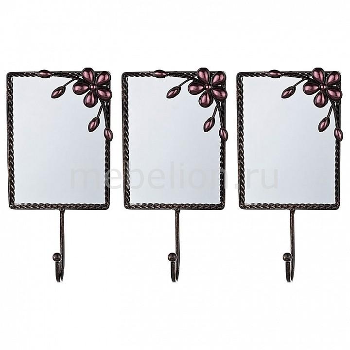 Крючок декоративный АРТИ-М Набор из 3 крючков декоративных 189-117 мини набор для бадминтона fan chiou цвет черный 3 м х 1 55 м