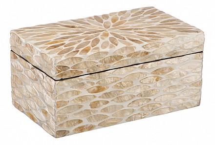 Шкатулка для украшений (21х12х10 см) Золотой песок VP-18