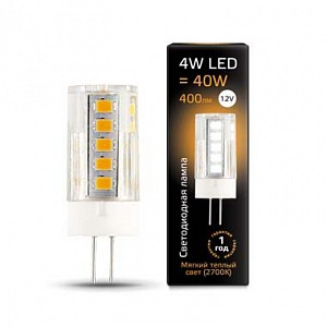 Лампа светодиодная 2073 G4 12В 4Вт 2700K 207307104