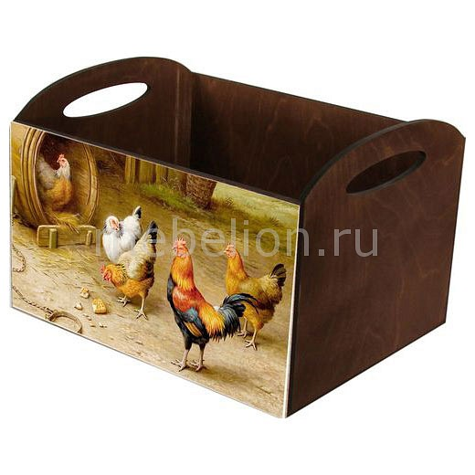 Ящик декоративный Акита Птичий двор N-78-1