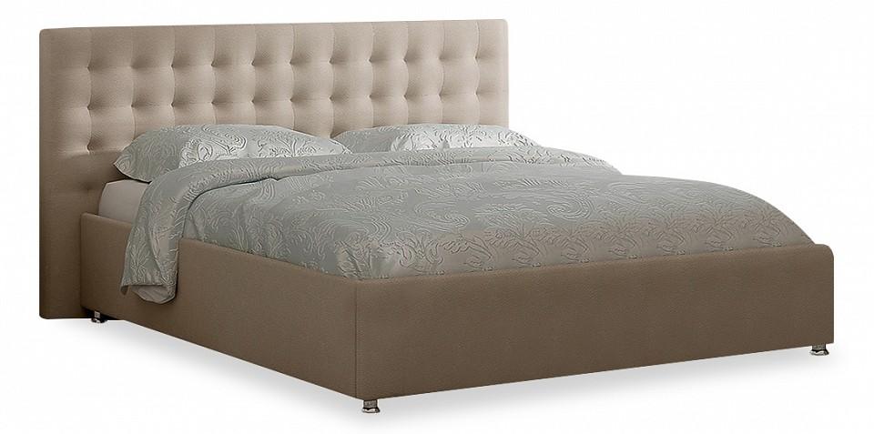 Кровать двуспальная с матрасом и подъемным механизмом Siena 160-200