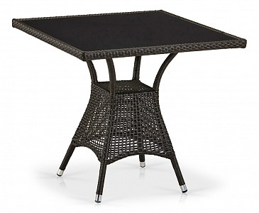 Стол обеденный T197BNS-W53-80x80 Brown